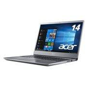 SF314-54-N24Q/SF [Pentium Gold 4417U/メモリ4GB/SSD128GB/ドライブなし/14.0型/Windows 10 Home/Office Home & Business 2019/スパークリーシルバー/ヨドバシカメラ限定モデル]