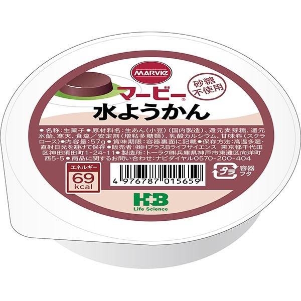 マービー 水ようかん 57g [菓子]