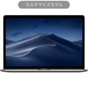 MacBook Pro Touch Bar 15インチ 2.6GHz 6コアIntel Core i7プロセッサ 256GB SSD 32GBメモリ RadeonPro555X カスタマイズモデル(CTO) 日本語(JIS)キーボード スペースグレイ [Z0WV000K8]