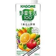 カゴメ ホテルレストラン用 野菜生活100 オリジナル 1L×6本入り [果実果汁飲料]