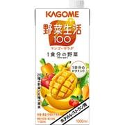 カゴメ ホテルレストラン用 野菜生活100 マンゴーサラダ 1L×6本入り [果実果汁飲料]