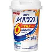 メイジメイバランス Miniカップ フルーツオレ味 125ml [バランス栄養食品]