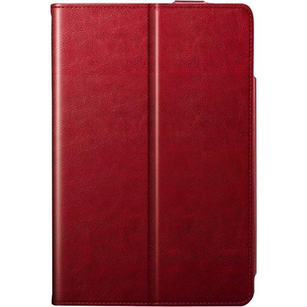 BSIPD1907CLMRD [iPad mini(2019年モデル)/iPad mini4用 マルチアングルレザーケース レッド]