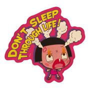 チコちゃんに叱られる! トラベルステッカー 4 DON'T SLEEP THROUGH LIFE! [キャラクターグッズ]