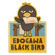 チコちゃんに叱られる! トラベルステッカー 8 EDOGAWA BLACK BIRD [キャラクターグッズ]