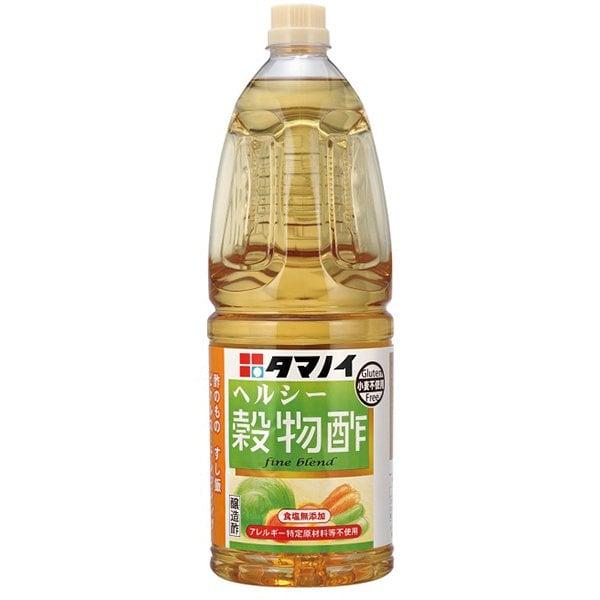 ヘルシー穀物酢 食塩無添加タイプ 1.8L [酢]