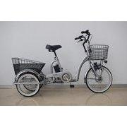CES-TRI2019 [電動アシスト自転車 シルバー 11.2Ah]