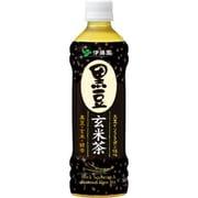 黒豆玄米茶 500ml×24本 [お茶]