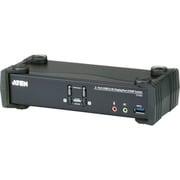 CS1922 [ATEN KVMP[[TM上]]スイッチ 2ポート/USB/DisplayPort/DCI 4K対応/USB 3.0ハブ搭載]