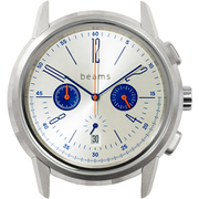WNW-HC22 S [wena wrist Chronograph Classic Silver beams edition]
