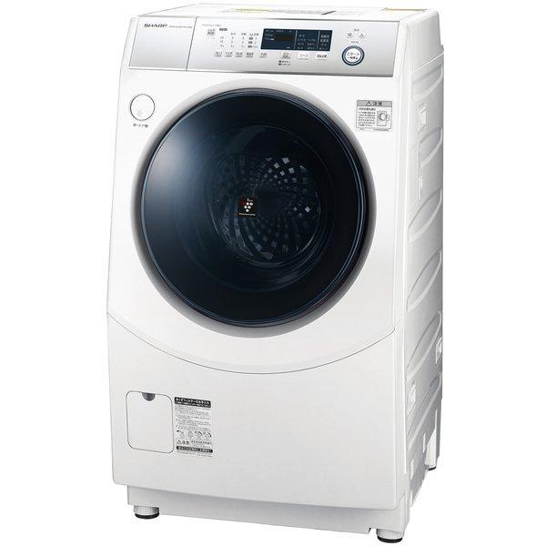 ES-H10D-WR [ドラム式洗濯乾燥機 洗濯10.0kg/乾燥6.0kg ホワイト系 右開き]