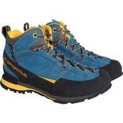 Boulder X Mid 17E Blue/Yellow EU42(26.7cm) [トレッキングシューズ メンズ]