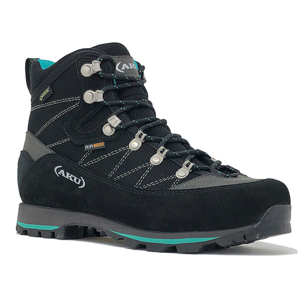 ALBA TREK NARROW GTX WS 978ISG.B 74_BLACK/MINT UK3.5(22.5cm) [トレッキングシューズ レディース]