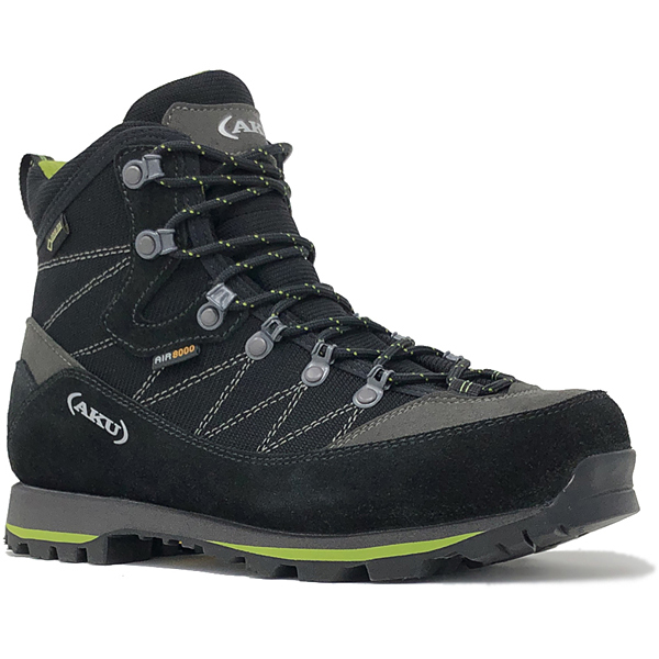 ALBA TREK ISG GTX 977ISG 110_BLACK/GREEN UK7(26.0cm) [トレッキングシューズ メンズ]