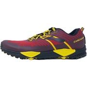 MEN CASCADIA 13 1102851D634 634 Red/Yellow/Black 27.5cm [トレイルランニングシューズ メンズ]