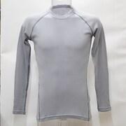 Msミドルロングアンダーシャツ SF-21 LGYライトグレー Lサイズ [アウトドア アンダーウェア メンズ]