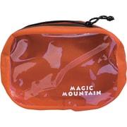 マジックマウンテン シームレスドライポーチ・1 MMSDP1 オレンジ 1L [アウトドア系小型バッグ]
