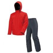 ゴアテックス オールウェザースーツ メンズ PN-GR03 R00_レッド Sサイズ [アウトドア レインウェア メンズ]