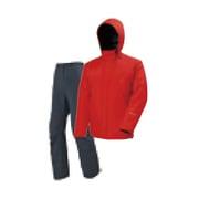 ゴアテックス オールウェザースーツ メンズ PN-GR03 R00_レッド Mサイズ [アウトドア レインウェア メンズ]
