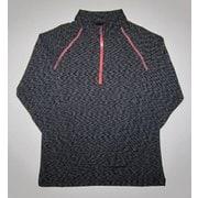 W ハイブリッド II ジップシャツ J 826 グレー Lサイズ [アウトドア シャツ メンズ]