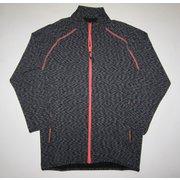 W ハイブリッド II フルジップシャツ J 828 グレー Sサイズ [アウトドア シャツ メンズ]