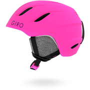 NINE JR AF 7082872 Matte Bright Pink Mサイズ [ヘルメット]
