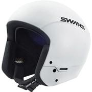 レーシングヘルメット HSR-90FIS W Lサイズ [スキー ヘルメット レーシング]