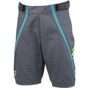 Jr.BONDING SHORT PANTS ONP70091 008 CHARCOAL 150cm [スキーウェアジュニア]