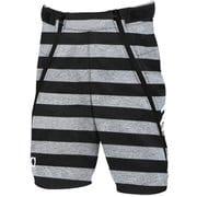 Jr.BONDING SHORT PANTS ONP70091 999P BORDER 160cm [スキーウェアジュニア]