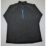 M ハイブリッド II ジップシャツ J 726 グレー Sサイズ [アウトドア シャツ メンズ]