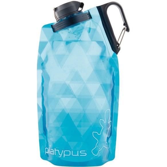 Platypus_デュオロックソフトボトル 25901 ブループリズム 1L [アウトドア ウォーターバッグ]