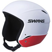 レーシングヘルメット H-70FIS ホワイト×レッド [スノーヘルメット レーシング ジュニア]