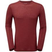 プリミノ140 L/S Tシャツ GMP1LSJ レッドウッド Mサイズ [アウトドア カットソー メンズ]