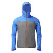 Halo Jacket OC092 Grey/Blue Mサイズ [アウトドア レインウェア メンズ]