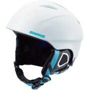 スノーヘルメット HSF-130 W/LBL Mサイズ [ヘルメット]