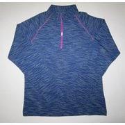 W ハイブリッド II ジップシャツ J 826 ブルー Lサイズ [アウトドア シャツ メンズ]