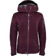 W Bec de Rosses Jacket 18121003 Aubergine XSサイズ [スキーウェア ジャケット レディース]