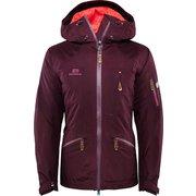 W Zermatt Jacket - Aubergine - XS 18121038 Aubergine XSサイズ [スキーウェア ジャケット]