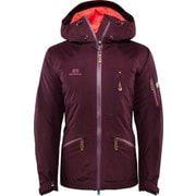 W Zermatt Jacket - Aubergine - S 18121038 Aubergine Sサイズ [スキーウェア ジャケット]
