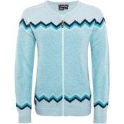 W Santiago Knit 18125070 Coral Blue Mサイズ [スキーウェア ミドルウェア レディース]