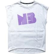 NBロゴTシャツ JWTP9007 WT_ホワイト Mサイズ [ランニングシャツ]
