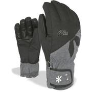 LEVEL SUNSHINE 8157LG pk black 6.5 XSサイズ [スキーグローブ]