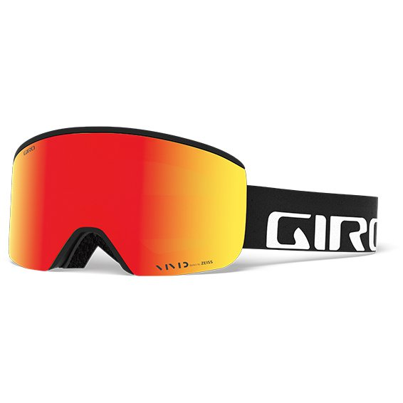 AXIS AF 7083266 BLACK WORDMARK Vivid Ember34/Vivid Infrared62サイズ [スキー ゴーグル]