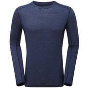 プリミノ140 L/S Tシャツ GMP1LSJ ATCブルー Lサイズ [アウトドア カットソー メンズ]