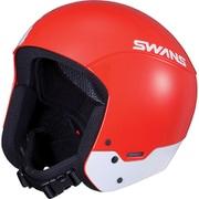 レーシングヘルメット HSR-90FIS R/W Lサイズ [スノーヘルメット メンズ]