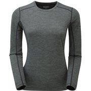 F プリミノ140 L/S Tシャツ GFP1LSJ ブラック Sサイズ [アウトドア カットソー レディース]