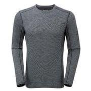 プリミノ140 L/S Tシャツ GMP1LSJ ブラック Sサイズ [アウトドア カットソー メンズ]