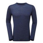 プリミノ140 L/S Tシャツ GMP1LSJ ATCブルー Sサイズ [アウトドア カットソー メンズ]