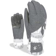 LEVEL SUNSHINE 8157LG silver 6.5 XSサイズ [スキーグローブ]