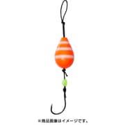 穴釣り専科 アナヅリーSS 5号 オレンジゼブラグロー